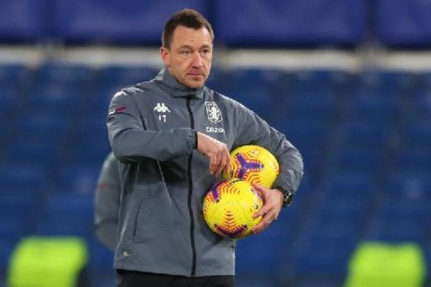 John Terry quitte son poste d'adjoint à Aston Villa