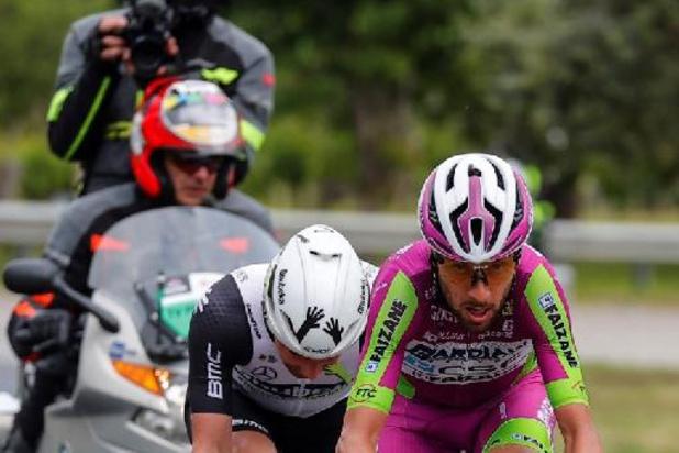 Giro - Campenaerts kan leven met zevende plaats