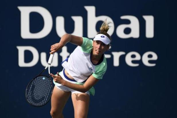 Elise Mertens stoot vlot door naar tweede ronde