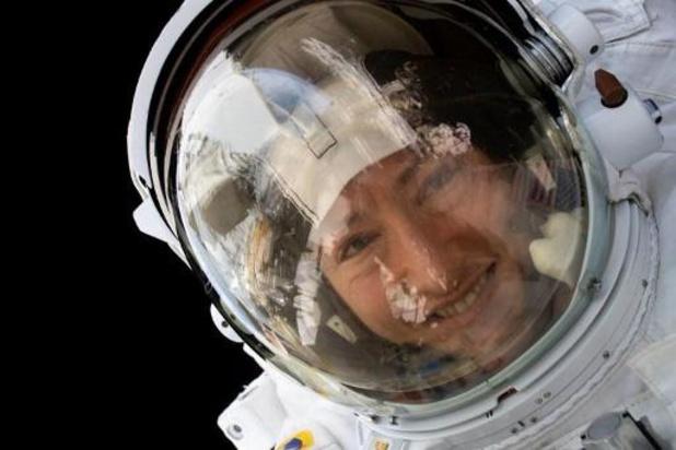 L'astronaute américaine de retour sur Terre, après 11 mois à bord de l'ISS