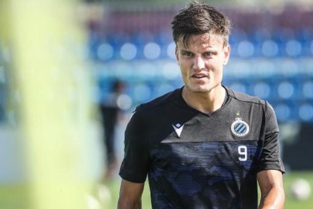 Jupiler Pro League - Jelle Vossen (Club Bruges) transféré à Zulte Waregem