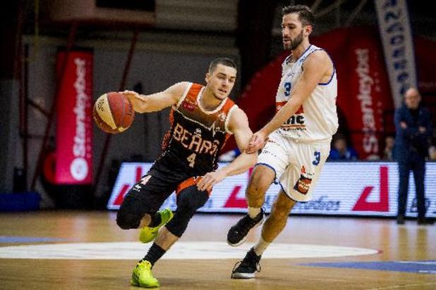 Euromillions Basket League - Le Belge Joris Fauconnier quitte Louvain