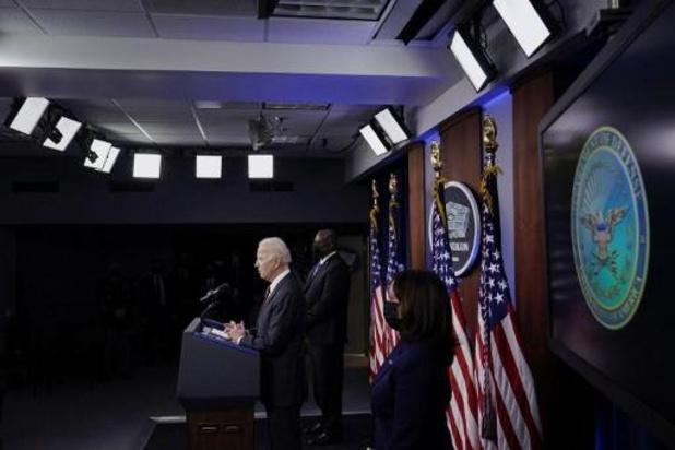 Biden annonce la création d'un groupe de travail au Pentagone sur la Chine
