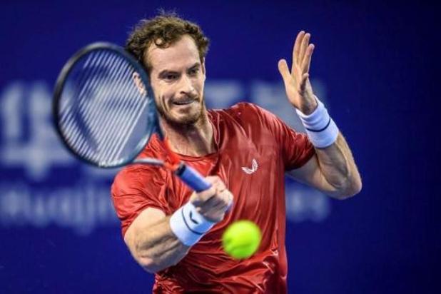 Andy Murray blijft winnen