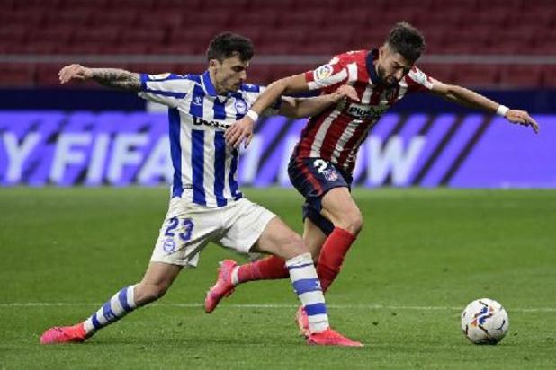 Alaves smeert Atletico en Carrasco eerste competitienederlaag aan