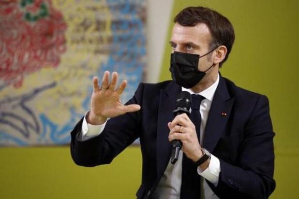 """Violences sexuelles sur mineurs: """"aucun répit aux agresseurs"""", assure Macron"""