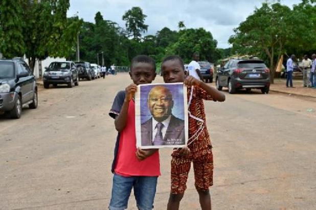 Côte d'Ivoire: plusieurs milliers de personnes accueillent Gbagbo dans son village