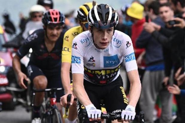 """Jonas Vingegaard se rapproche de la 2e place sur le podium: """"Je ne peux qu'être heureux"""""""