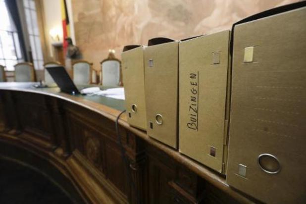 Une peine de prison et des amendes requises dans le procès Buizingen