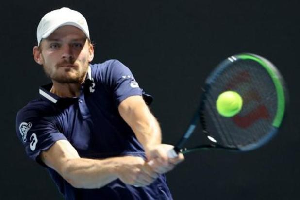 ATP Montpellier - David Goffin bereikt kwartfinales