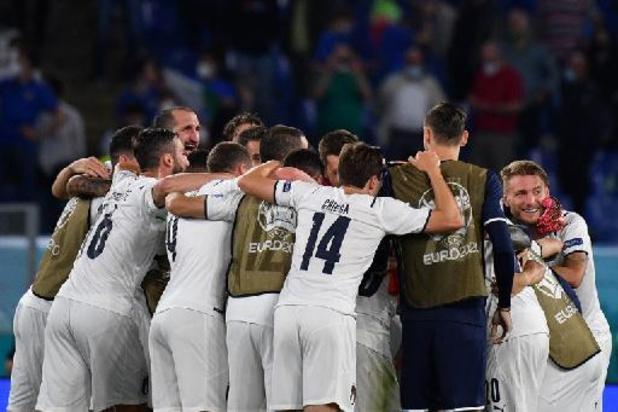 L'Italie déjà près des huitièmes, la Finlande pour confirmer