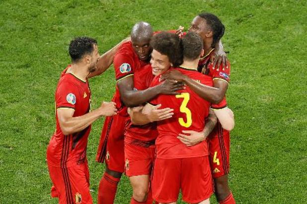 Euro 2020 - La Belgique maîtrise la Finlande (0-2) et assure sa première place
