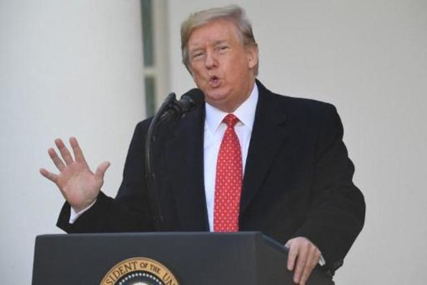 Impeachmentonderzoek tegen Trump - Trump mag zich volgende week komen verdedigen tijdens hoorzitting