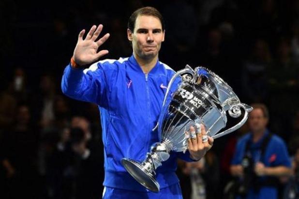ATP Masters - Rafael Nadal devient le N.1 mondial en fin de saison le plus âgé de l'histoire