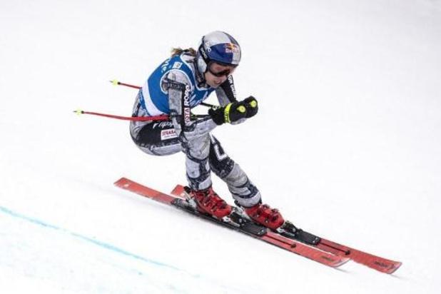 Ester Ledecka wint super-G in Val d'Isère