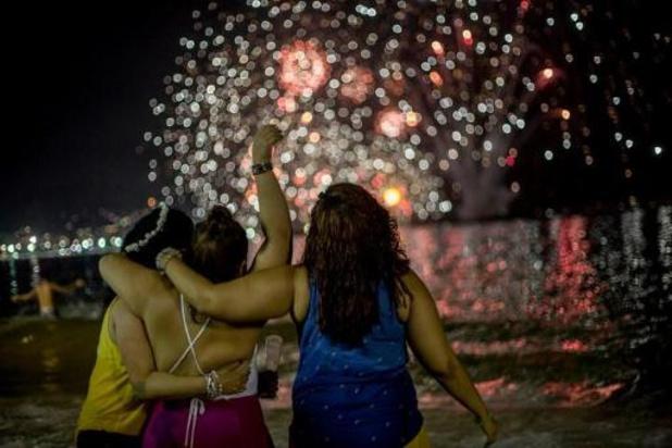 Nouvel An à Rio: plus de 2.000 policiers à Copacabana
