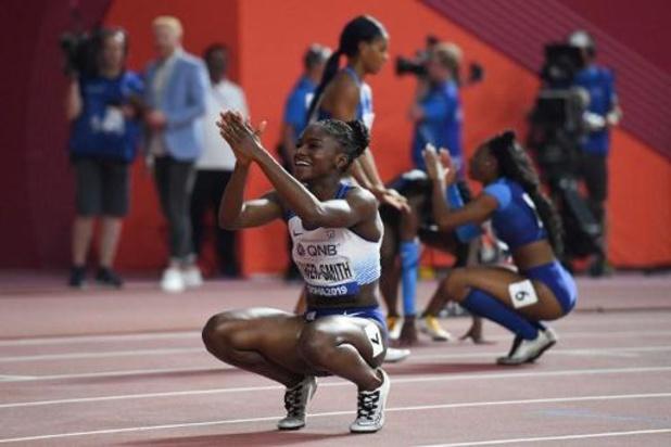 WK atletiek - Britse Asher-Smith snelt op 200 meter naar goud