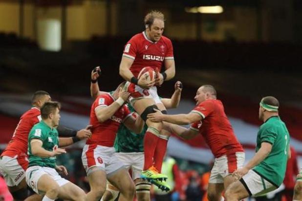 Six Nations - Le Pays de Galles se joue de l'Irlande