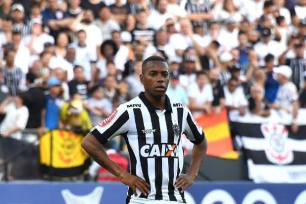 Le Brésilien Robinho revient encore au Santos FC