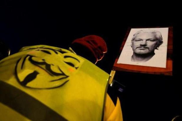 La justice britannique rejète la demande de libération sous caution d'Assange
