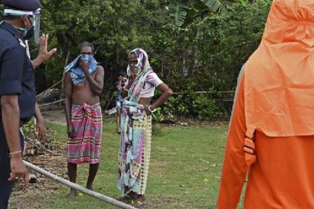 Bijna 2 miljoen mensen in India schuilen voor cycloon Yaas