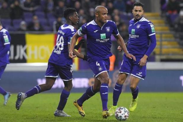 Coronavirus - Anderlecht schort alle trainingen op en stuurt spelers naar huis