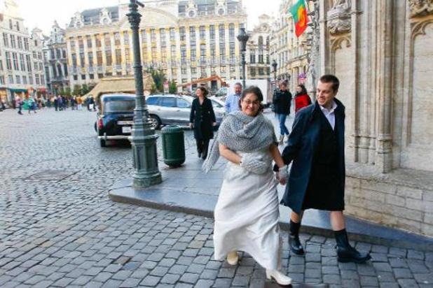 Légère augmentation du nombre de mariages