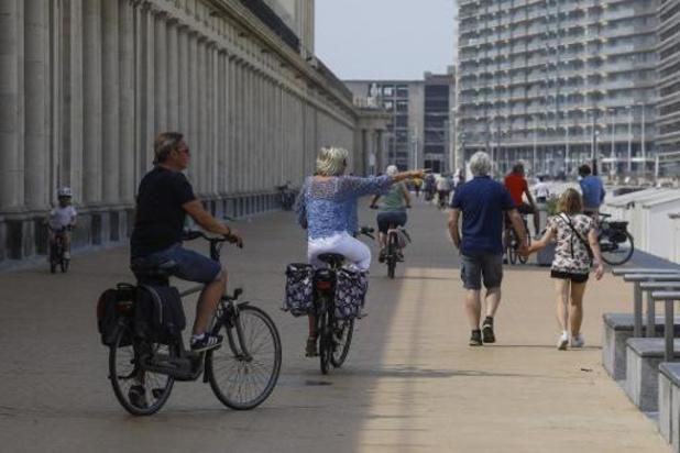 Déjà près de 22.000 réservations pour accéder aux plages d'Ostende jusqu'à mercredi