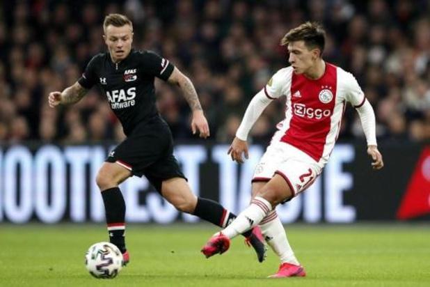 Les clubs néerlandais de football pourront encore effectuer cinq changements la saison prochaine
