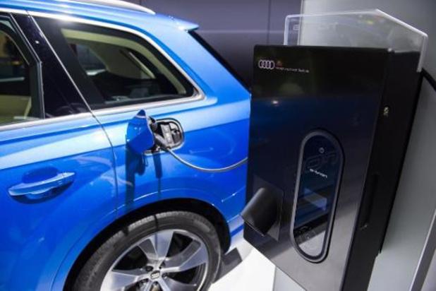 Seul 0,6 pour cent des voitures de société belge est électrique