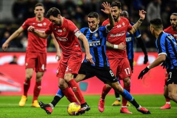 Drie Fiorentina-spelers testen positief