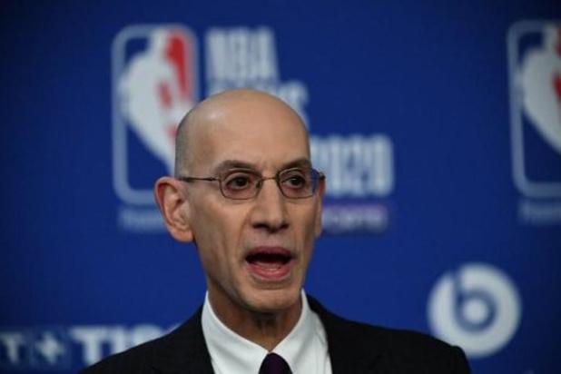 NBA - Topman Adam Silver verwacht volgend seizoen opnieuw volle zalen