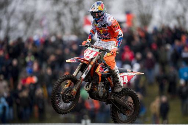 WK motorcross - GP van Kegums - Jeffrey Herlings wint zijn 89e Grand Prix