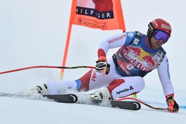 Le Suisse Beat Feuz réussit le doublé en descente à Kitzbühel
