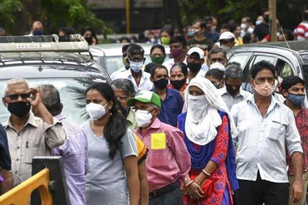 Voor tweede dag op rij verbreekt India wereldrecord aantal nieuwe besmettingen