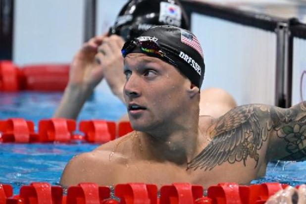 JO 2020 - Natation: Kolesnikov et Dressel impressionnent en demi-finale du 100 m nage libre