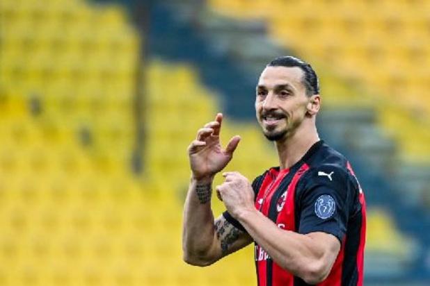 Serie A - Zlatan Ibrahimovic prolonge à l'AC Milan jusqu'en 2022