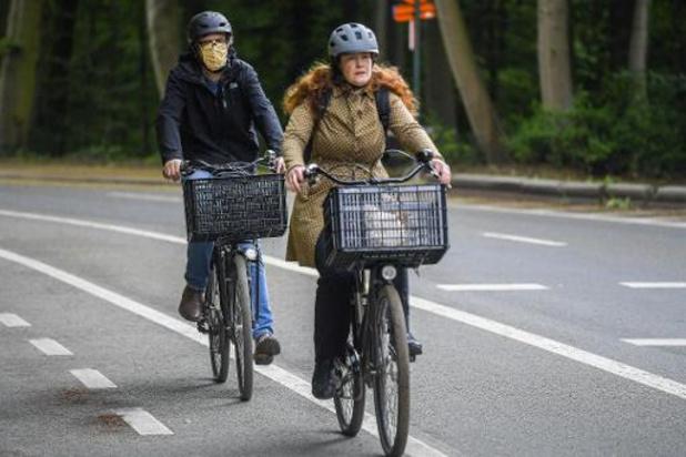 Aantal fietsongevallen met 56% gedaald tijdens lockdown