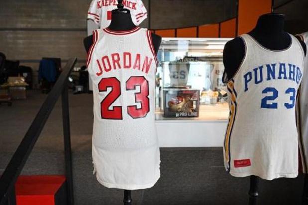 Vente aux enchères record pour un maillot historique de Michael Jordan