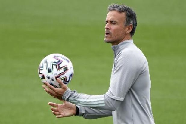 Euro 2020 - Luis Enrique veut garder son poste, peu importe le résultat de l'Espagne
