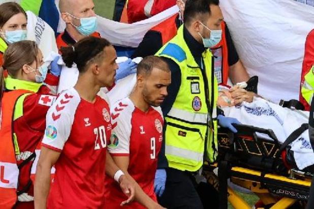"""Euro 2020 - """"On a réussi à faire +revenir+ Christian"""", explique le médecin de l'équipe du Danemark"""