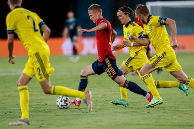 Euro 2020 - L'Espagne bute sur la Suède, premier 0-0 du tournoi