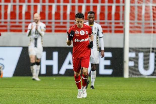 L'Antwerp émerge face à Charleroi (2-1) et intègre provisoirement le top 4 de la Jupiler Pro League