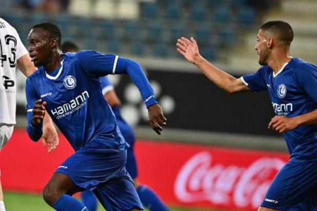 Conference League - La Gantoise a remonté deux buts face au RFS