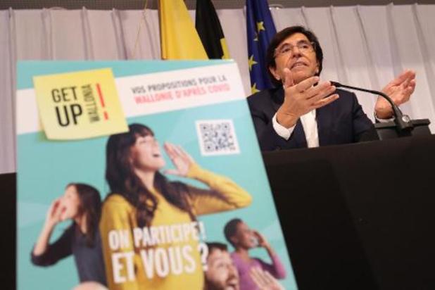 Get up Wallonia:la Wallonie lance une consultation populaire pour réinventer l'après-covid