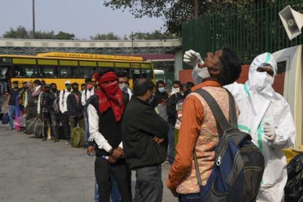 Les cas de coronavirus en Inde passent le cap des 9 millions