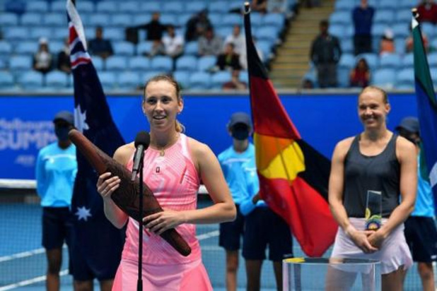 "WTA Gippsland Trophy - Kanepi, battue par Mertens: ""Félicitations Elise. Tu étais trop forte pour moi"""