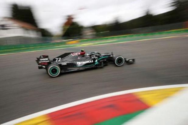 Bottas devance d'un rien Hamilton et Verstappen lors des premiers essais libres