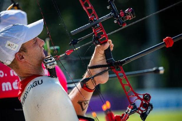 Paralympische Spelen - Boogschutter Piotr Van Montagu naar achtste finales