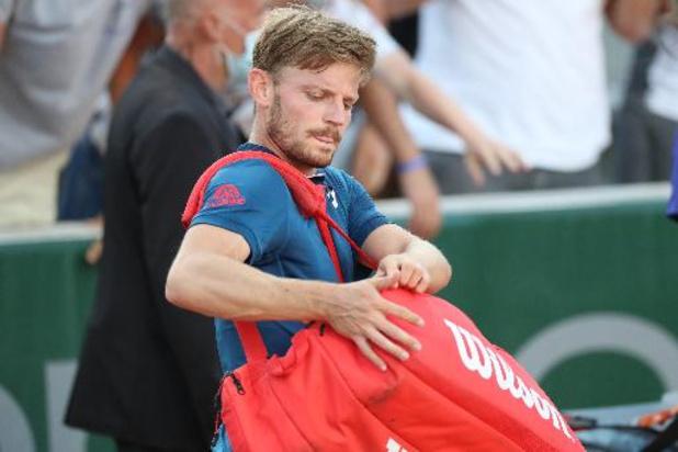 David Goffin chute à la 20e place au classement ATP, du changement dans le top 10
